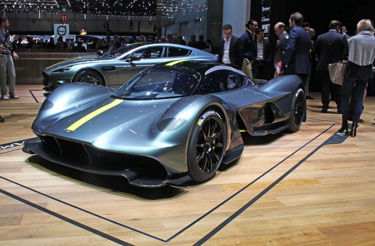 Geneva: The £2m Aston Martin Valkyrie