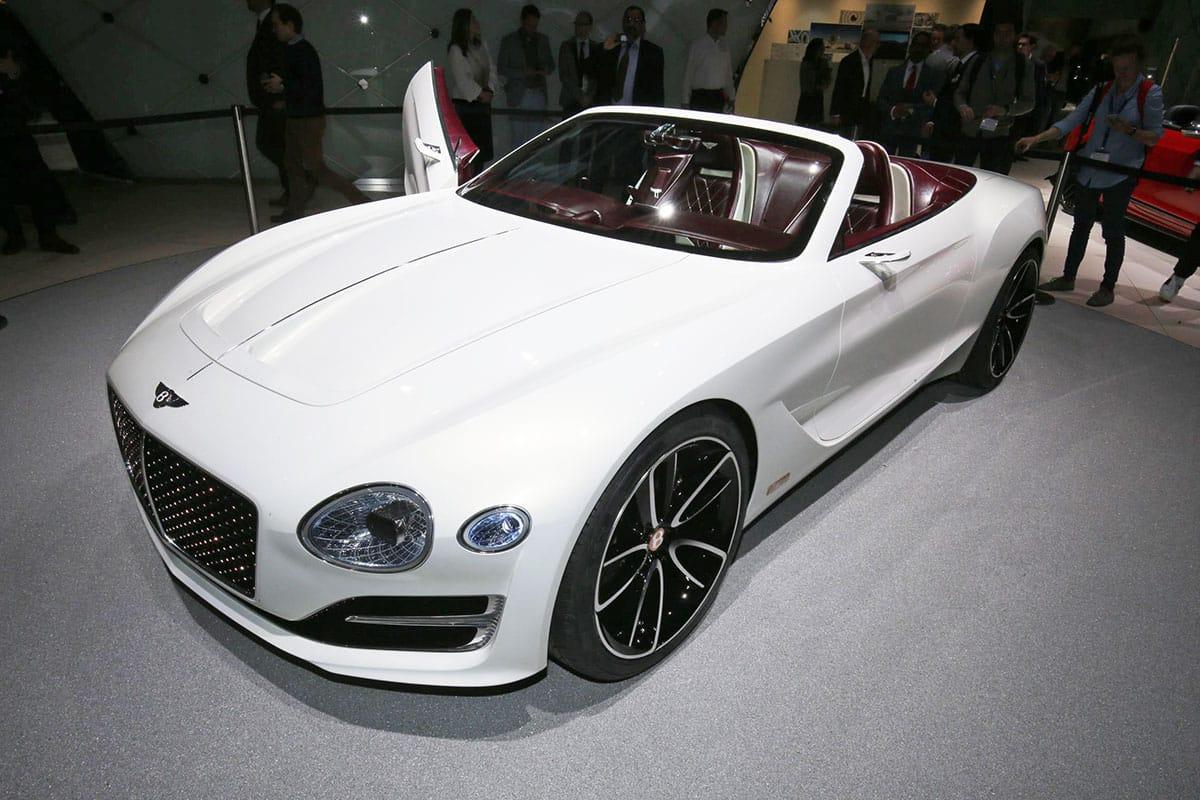 Bentley And Jaguar Go Electric Geneva Motor Show 2017