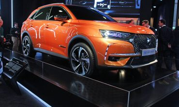 The new DS 7 Crossback unveiled at the Geneva motor show 2017