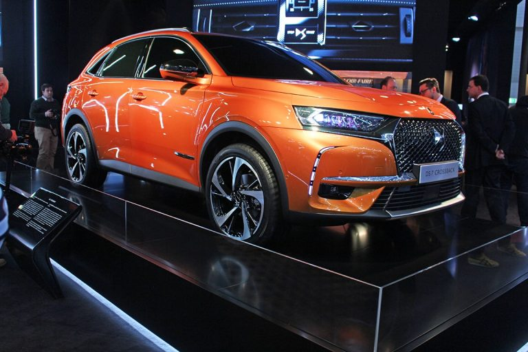 Geneva: DS 7 Crossback is a first