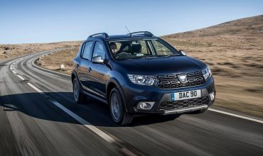 Dacia Sandero Stepway on road