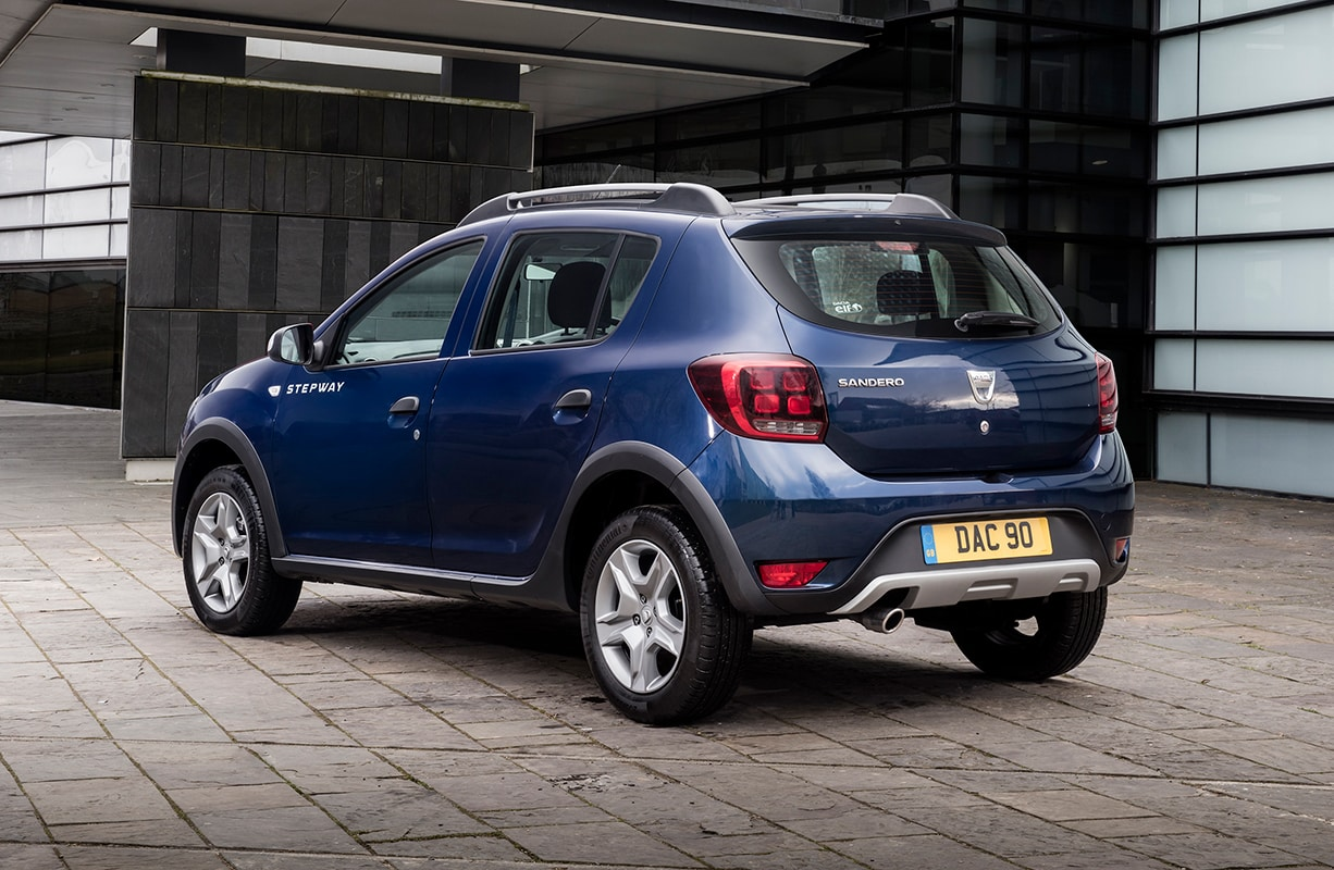 Dacia Sandero Stepway rear 34