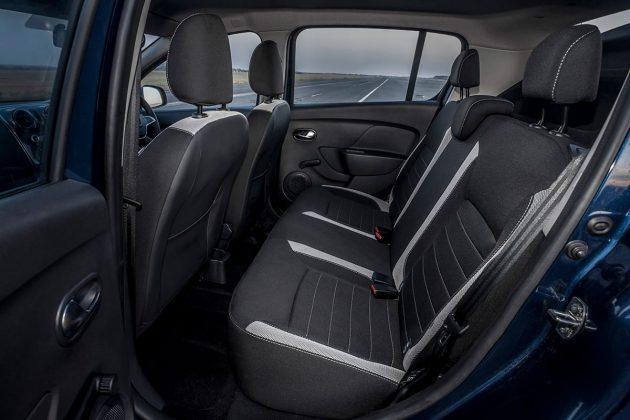 Dacia Sandero Stepway rear seats