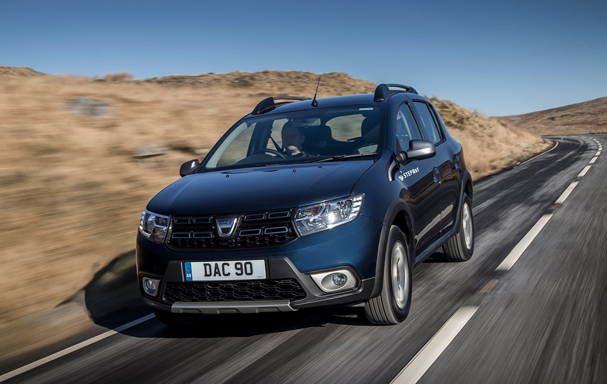 Dacia Sandero Stepway tracing