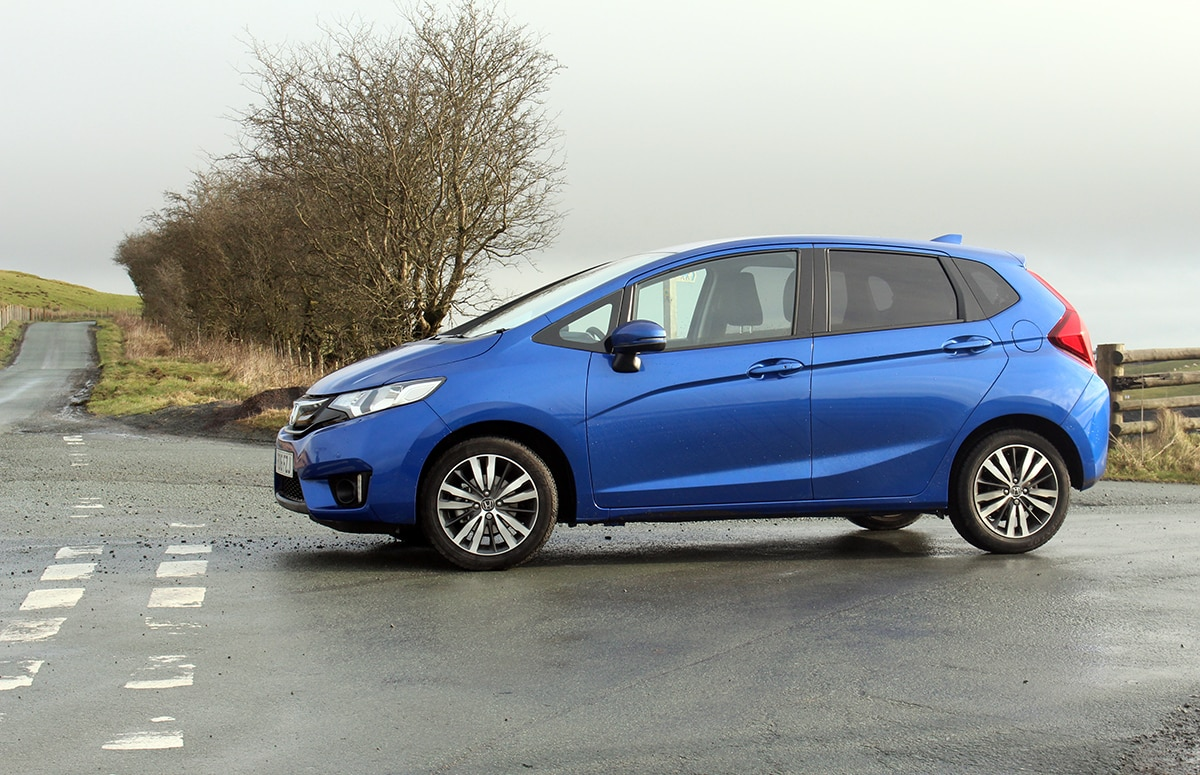 Honda Jazz review - side