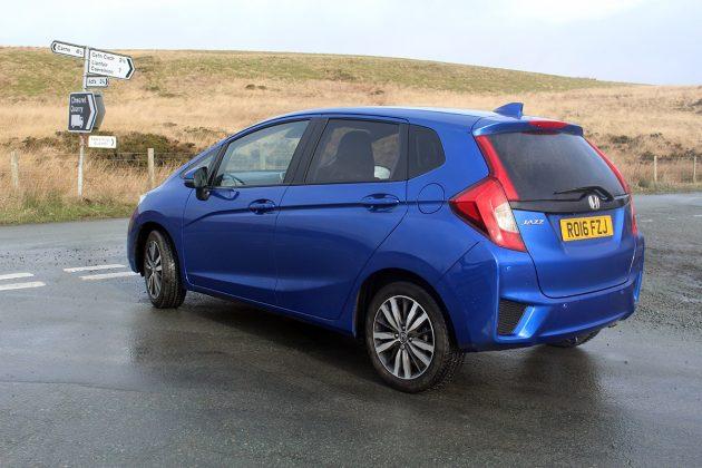Honda Jazz review - rear 34