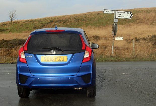 Honda Jazz review –rear