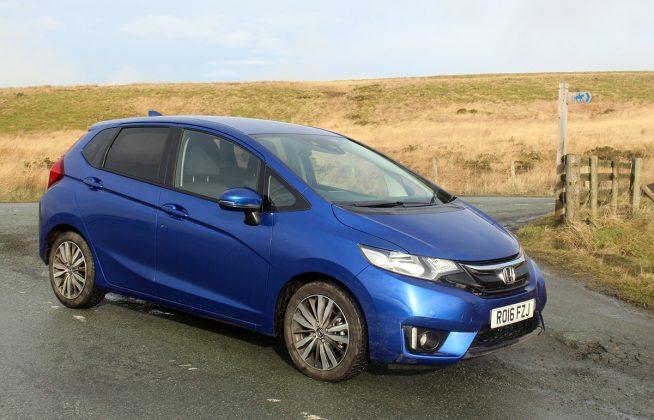 Honda Jazz review - front 34