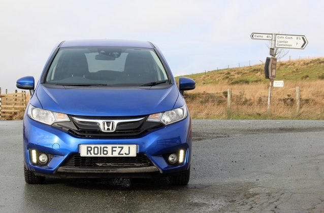 Honda Jazz review - front