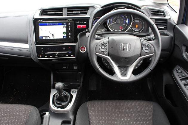 Honda Jazz review - dashboard-cockpit