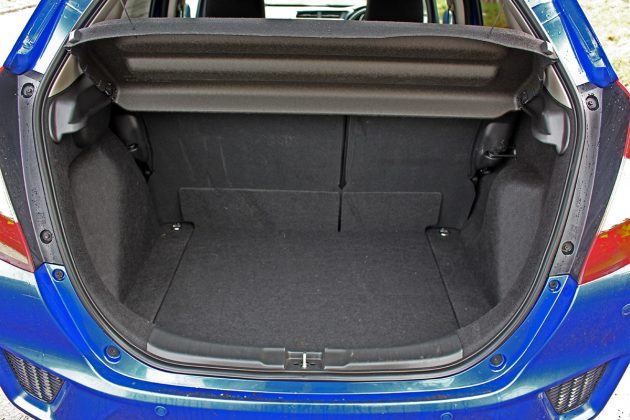 Honda Jazz review - boot