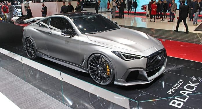 Infiniti Project Black S makes debut at Geneva