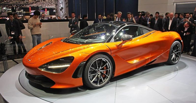 McLaren 720s at Geneva Motor Show