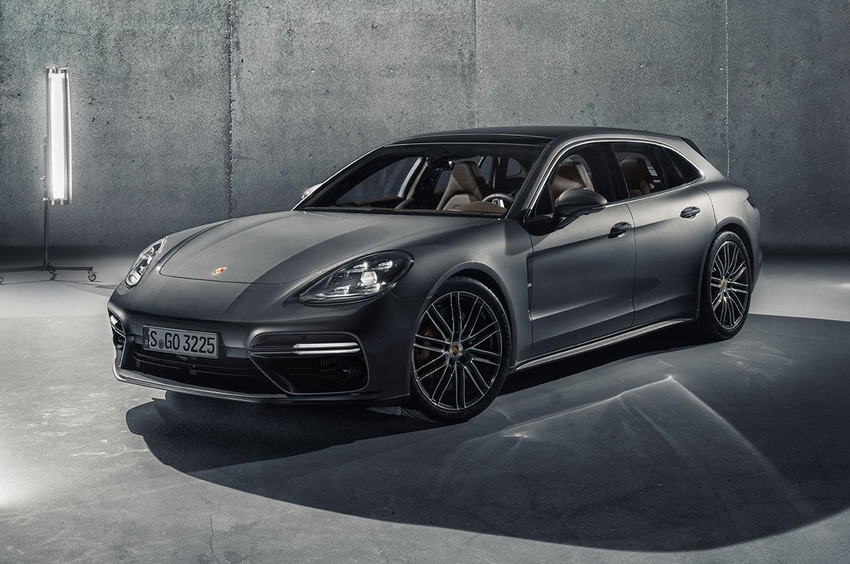 Porsche Panamera Sport Turismo front 34