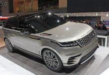 Range Rover Velar unveiled at Geneva Motor Show