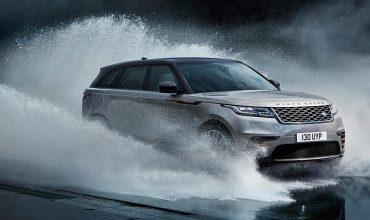 Range Rover Velar wade