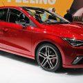 Red Seat new Ibiza on display at the Geneva Motor Show