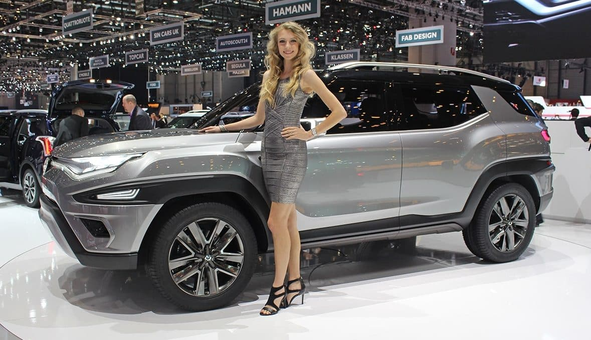 The new XALV SsangYong concept car has had its world premiere at the Geneva Motor Show