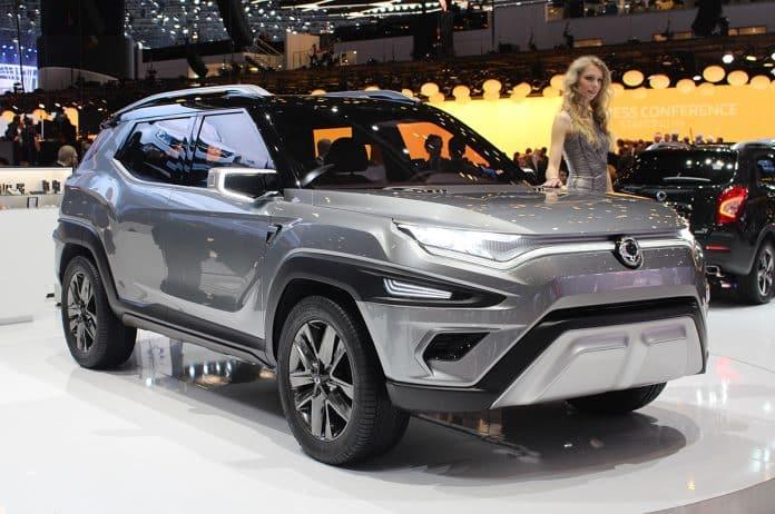 SsangYong new XAVL concept car makes its debut at the Geneva Motor Show