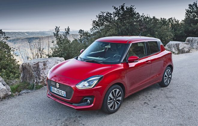 Suzuki Swift front 34
