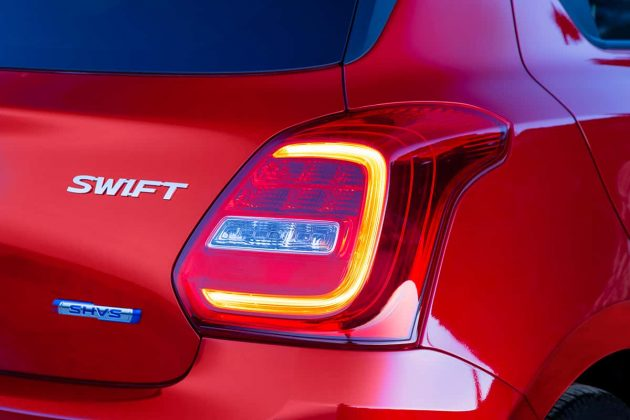Suzuki Swift lamp