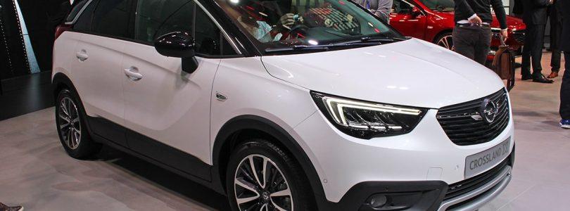 Vauxhall Crossland X at the Geneva Motor Show