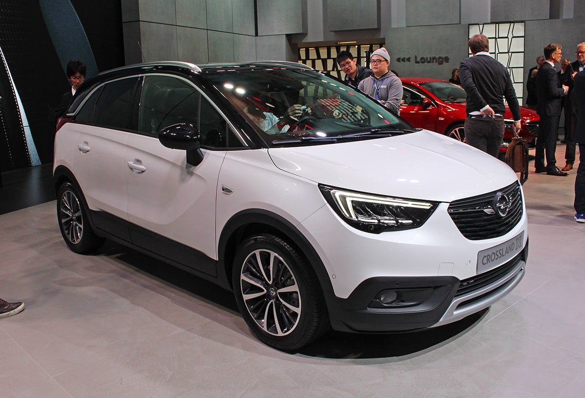 Vauxhall Crossland X at the Geneva Motor Show