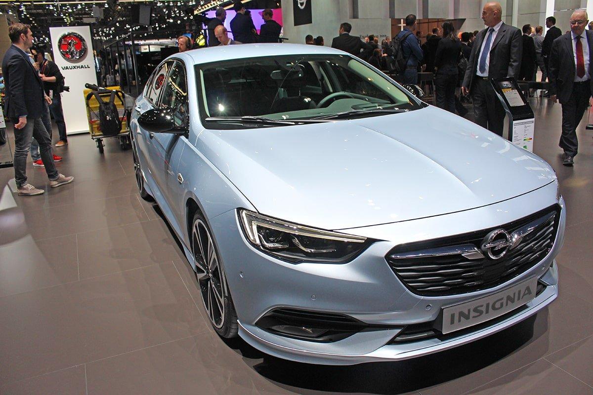 Vauxhall Insignia at Geneva Motor Show