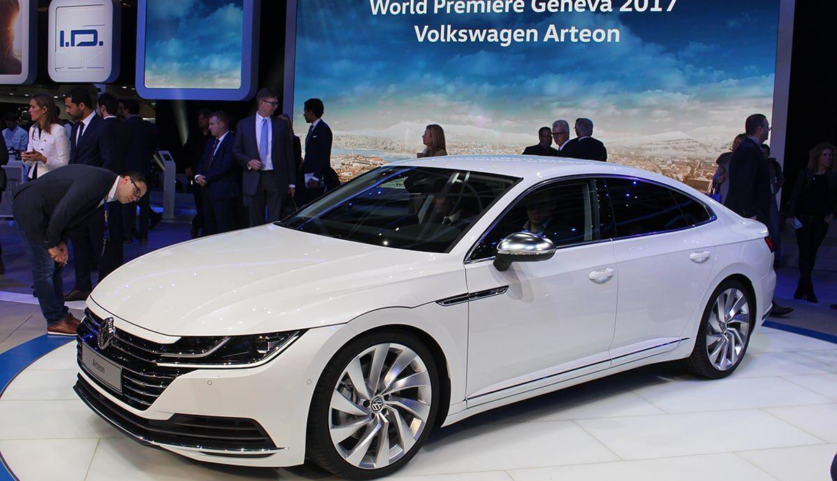 Volkswagen Arteon unveiled at Geneva Motor Show