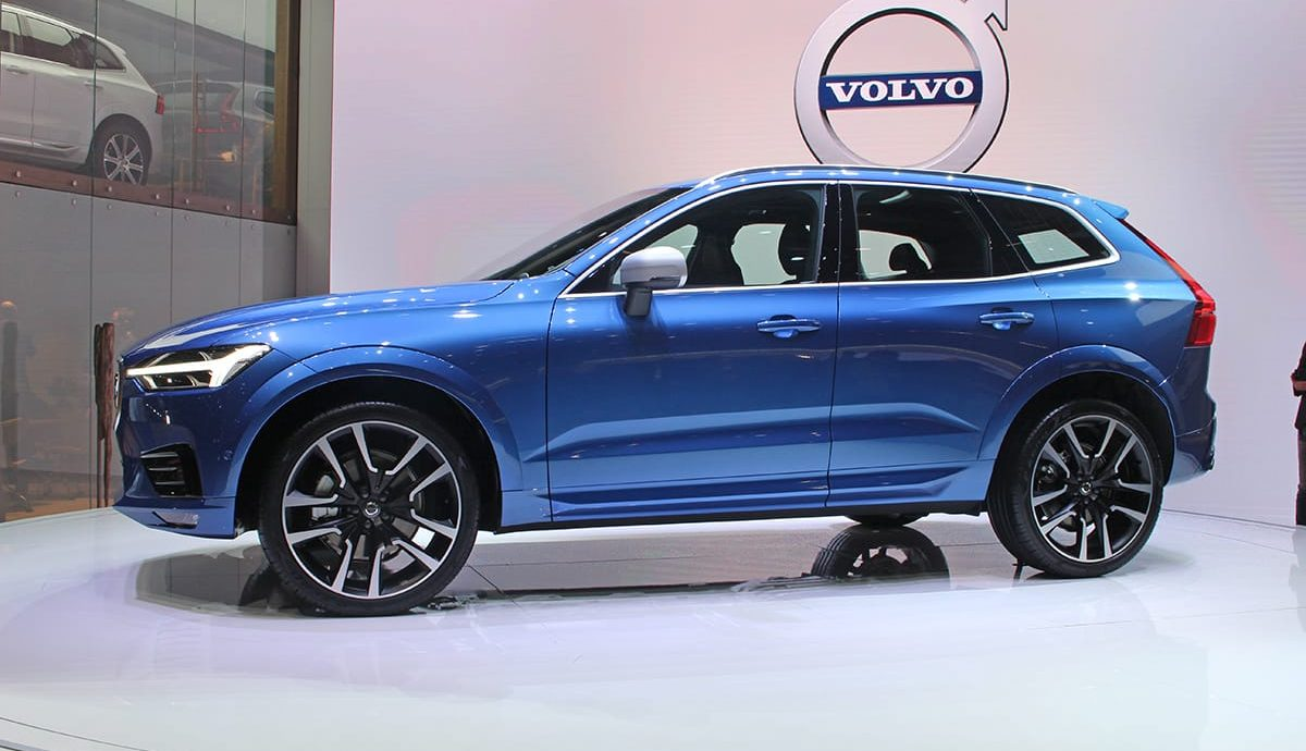 Volvo XC60 unveiled at the Geneva motor show 2017