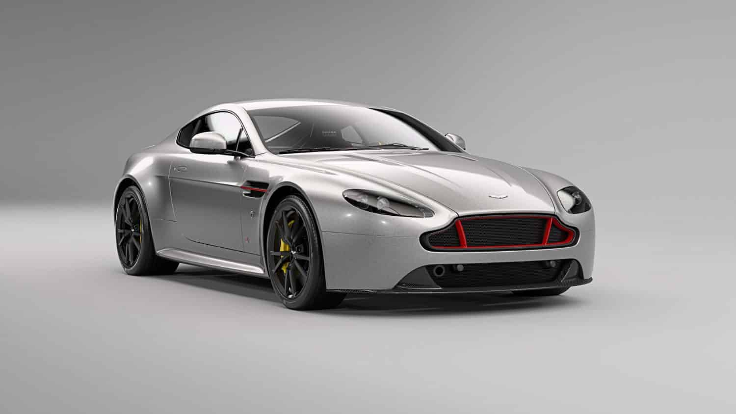 Aston Martin Vantage S Red Bull Racing Edition in Tungsten Silver