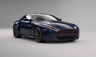 Aston Martins' Vantage S Red Bull Racing Edition in Marian Blue