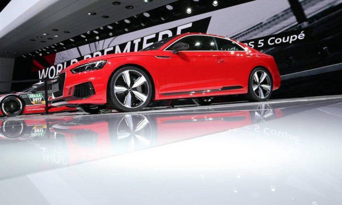 Audi RS5 at the 2017 Geneva motor show