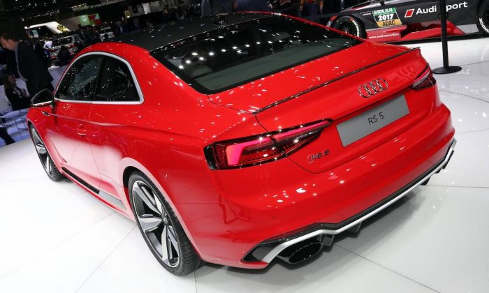 Audi RS 5 Coupe at the 2017 Geneva motor show