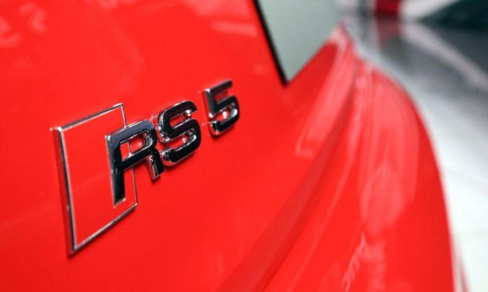 Audi RS 5 at the Geneva motor show 2017