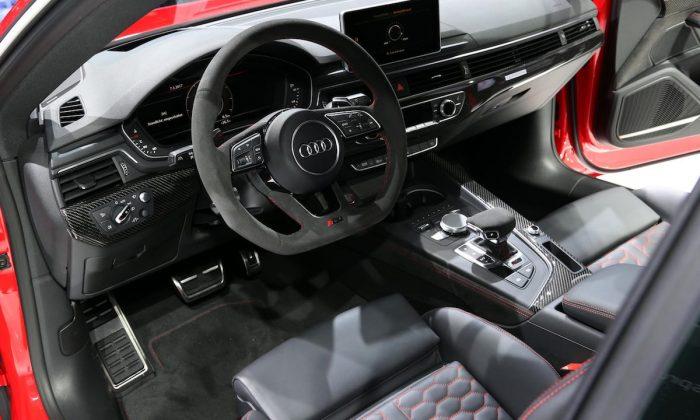 Audi RS5 interior 2017 Geneva motor show