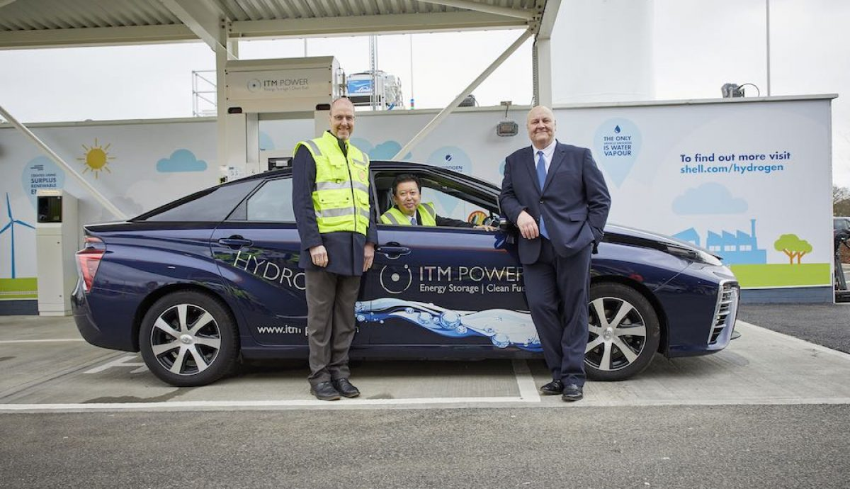 Toyota Mirai is first to refuel at Cobham hydrogen station