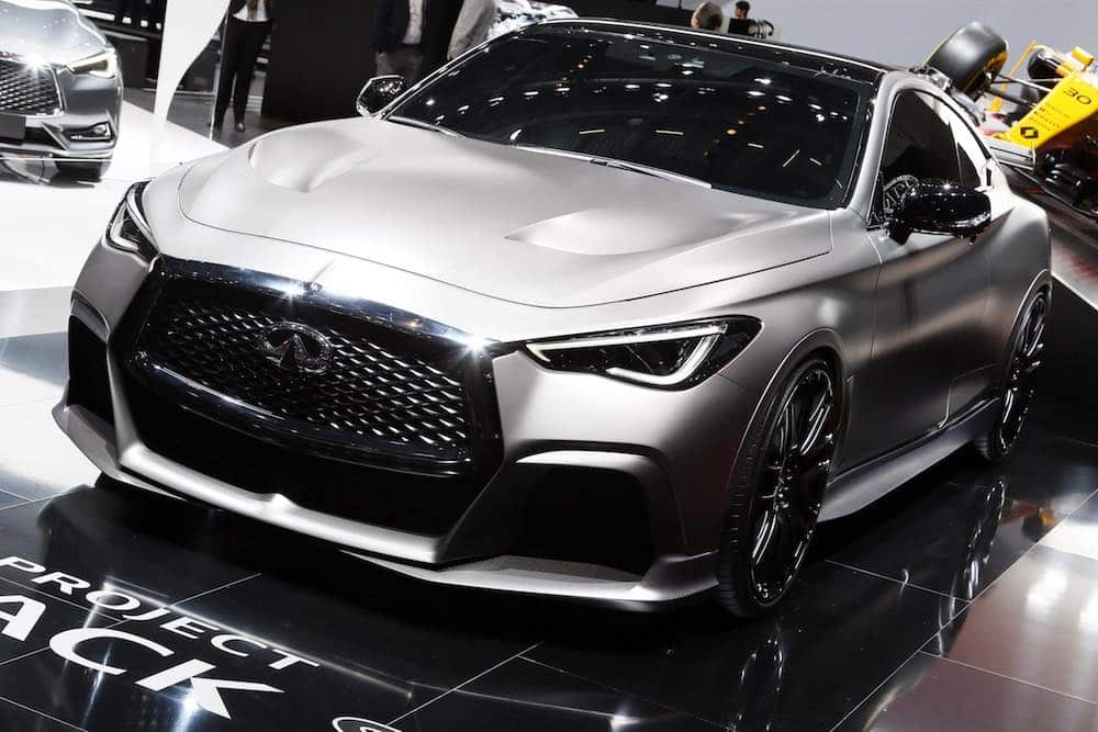 Infiniti Project Black S Q60 at the Geneva Motor Show 2017