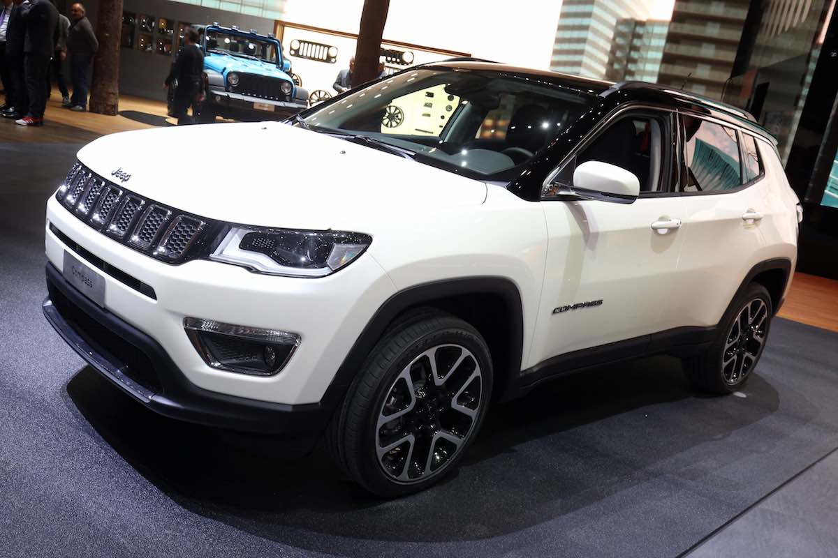 Jeep Compass - Geneva motor show 2017
