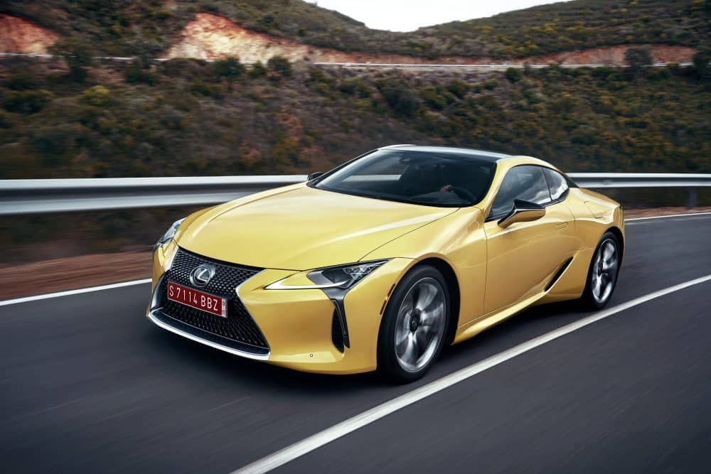 The Lexus LC was named Production Car Design of the Year 2016 at the Car Design Awards in Geneva