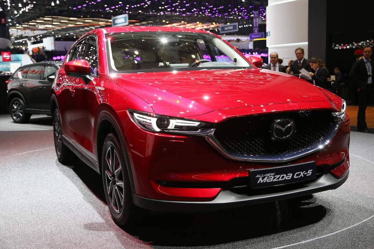 Mazda CX-5 - Geneva motor show 2017