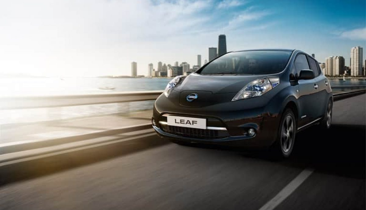 Pricing announced for New Nissan LEAF Black Edition