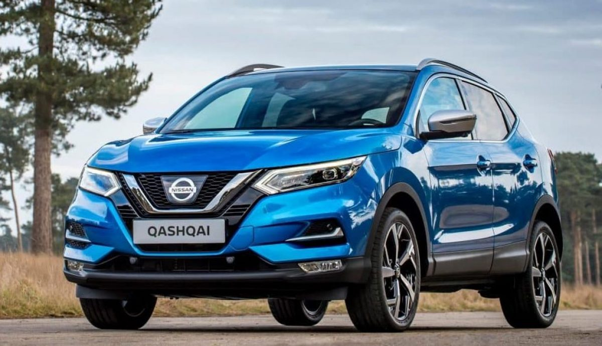 Vivid Blue new Nissan Qashqai which has made its debut at the Geneva Motor Show