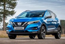 Vivid Blue new Nissan Qashqai which has made its debut at the Geneva Motor Show