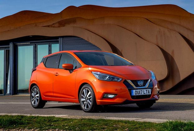 Nissan Micra front 34