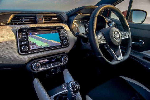 Nissan Micra touchscreen