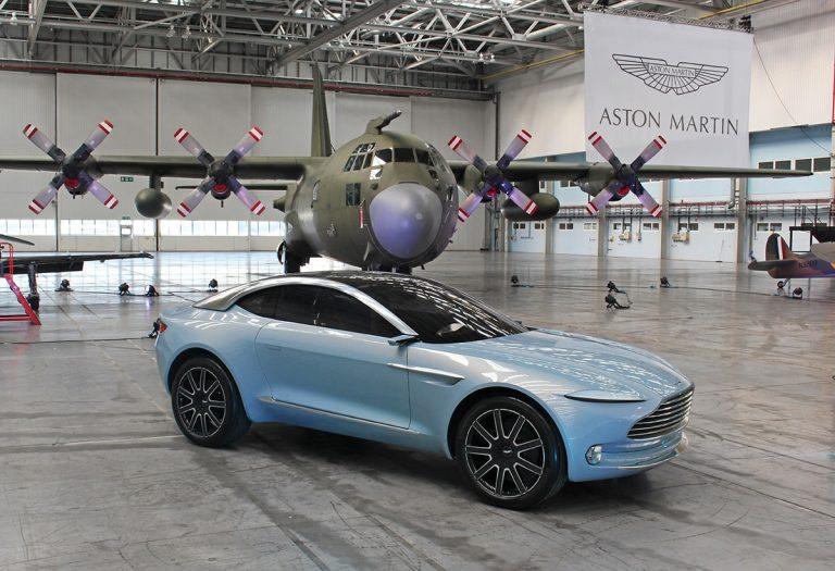 Aston Martin gets keys to DBX plant