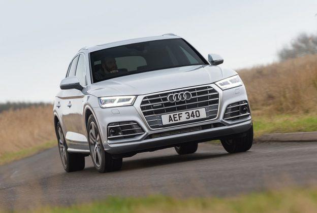 Audi Q5 cornering