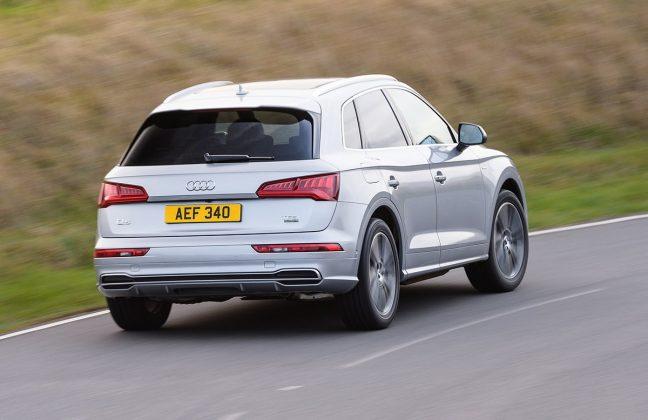Audi Q5 rear driving