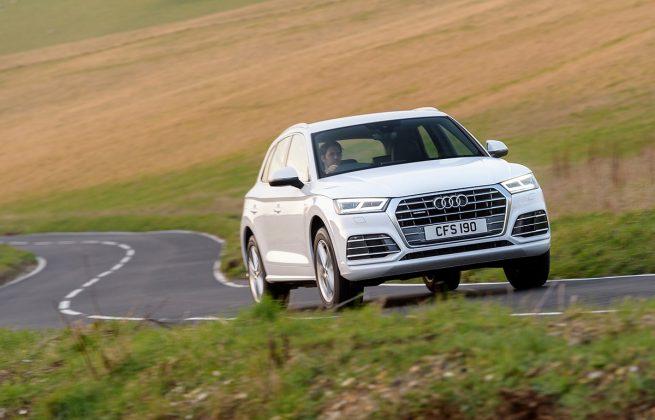 Audi Q5 scenery